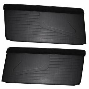 2 Panneaux de portes Peugeot 304 coupé et cabriolet en simili noir