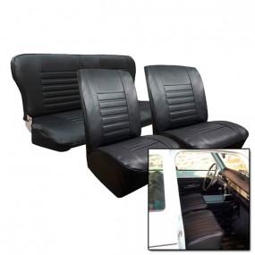 Garnitures des sièges avant et de la banquette arriére en simili cuir pour Renault 4L à partir de 1980