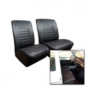 Garnitures des sièges avant en simili cuir pour Renault 4L à partir de 1980
