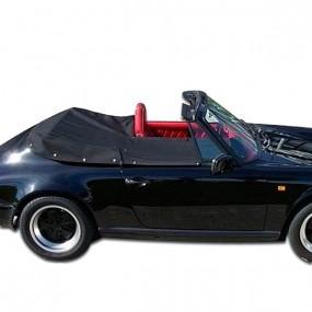 Couvre-tonneau en Alpaga Porsche 964 cabriolet capote manuelle
