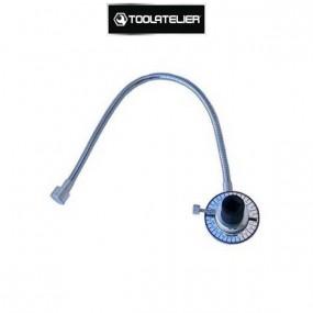"""Clé de serrage angulaire avec flexible et aimant, clé avec carré 1/2"""" - ToolAtelier®"""