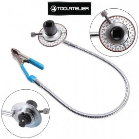 """Clé de serrage angulaire flexible avec Pince, carré 1/2"""" - ToolAtelier®"""