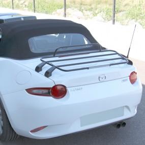 """Porte-bagages """"AERO"""" Mazda MX5 ND cabriolet - Noir"""