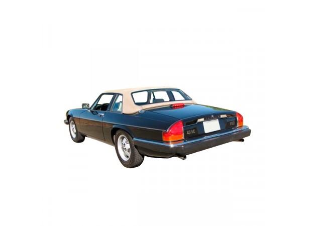 Capote auto Jaguar XJ-SC cabriolet en Alpaga Sonnenland avec lunette arrière en pvc