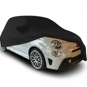 Bâche protection sur-mesure Fiat 500 Abarth décapotable en Jersey (Coverlux) - utilisation garage