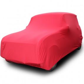 Bâche protection sur-mesure pour Renault 4L découvrable en Jersey (Coverlux+) - utilisation garage