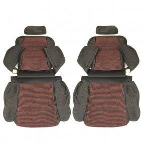 Garnitures siège avant et banquette arrière en tissu Monaco 205 CTI