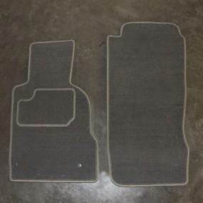 Tapis auto sur-mesure voiture Bmw Z3 en moquette aiguilletée (avant)