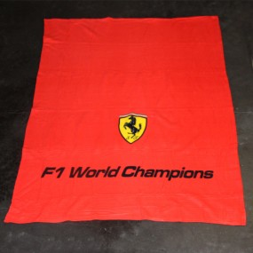 Couverture polaire 130 x 170cm Ferrari F1 World Champions