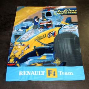 Couverture polaire 130 x 170cm Renault F1 Team