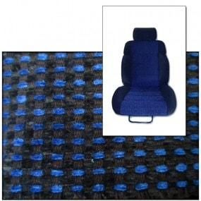 Tissus quartet Bleu pour Peugeot 205 CTI