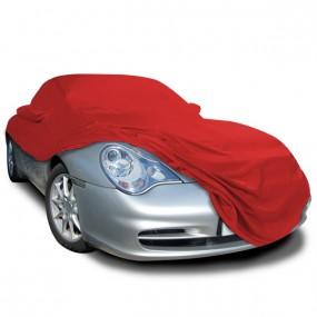 Bâche protection Porsche 996 (1999-2001) cabriolet en Jersey Rouge (Coverlux) pour garage