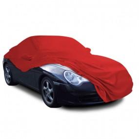 Bâche protection Porsche 996 (2002-2004) cabriolet en Jersey Rouge (Coverlux) pour garage