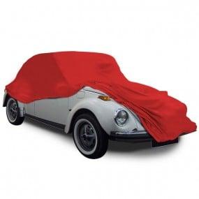 Housse protection VW Coccinelle 1200 1300 1302 et 1500 cabriolet en Jersey (Coverlux) Rouge pour garage