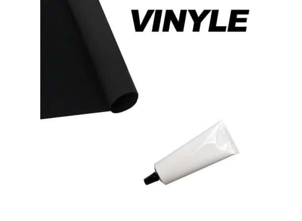 Kit de réparation pour capotes blanches en vinyle ou pvc