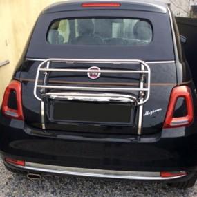 Porte-bagages sur-mesure pour cabriolet Fiat 500 cabrio