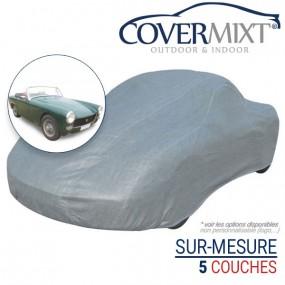 Housse protection voiture sur-mesure MG Midget MK3 cabriolet (1966/1969) - Covermixt