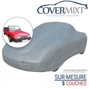 Housse protection voiture sur-mesure Saab 900 Classic cabriolet - Covermixt