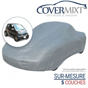 Housse protection voiture sur-mesure Smart ForTwo 450 cabriolet - Covermixt
