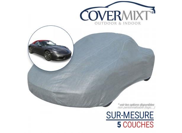 Housse protection voiture sur-mesure Porsche 991 (2012/2013) - COVERMIXT 4/5
