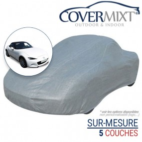 Housse protection voiture sur-mesure Mazda MX5 ND cabriolet (2016-2019) - Covermixt