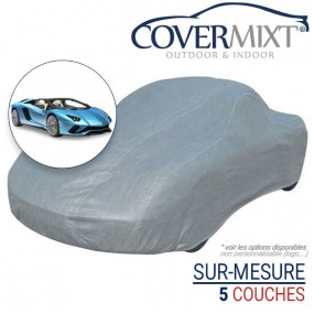 Housse protection voiture sur-mesure Lamborghini Aventador (2015+) - Covermixt