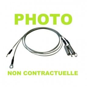 Câbles latéraux de tension pour Oldsmobile Cutlass cabriolet (1966-1967)