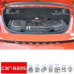 Set de bagages de voyage Car-Bags de coffre arrière pour Porsche Boxster 718 cabriolet