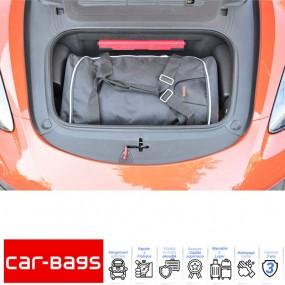 Set de bagages de voyage Car-Bags de coffre avant pour Porsche Cayman 718 cabriolet