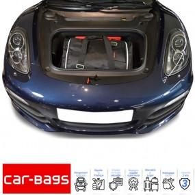 Set de bagages de voyage Car-Bags de coffre avant pour Porsche Cayman 981 cabriolet