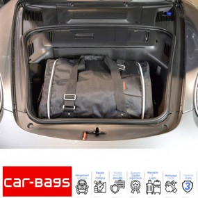 Set de bagages de voyage Car-Bags de coffre avant pour Porsche Cayman 987 cabriolet