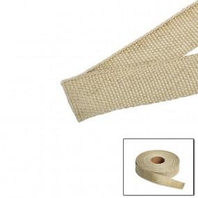 Isolant thermique pour échappement bande de 25 mm x 1 mètre couleur beige