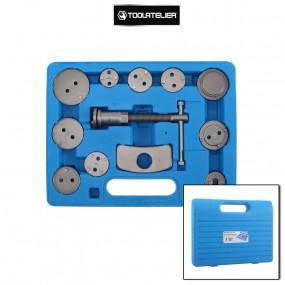 Mallette 12 pièces repousse piston avec adaptateurs multi marques - ToolAtelier®