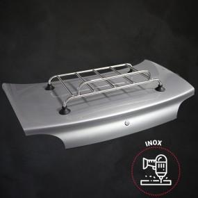 Kit porte-bagages Inox Classic Sport 5 barres percement + ventouses