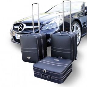 Bagagerie cuir pour Mercedes SL (R230) 3 pièces