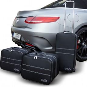 Bagagerie sur-mesure ensemble de 3 valises pour Mercedes Classe S (A217)