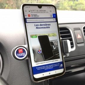 Support téléphone universel sur grille aération