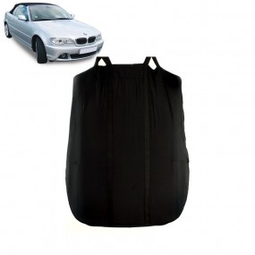 4 TAPIS SOL BMW SERIE 3 E46 CABRIOLET 318Ci 320Ci 323Ci MOQUETTE NOIR SUR MESURE