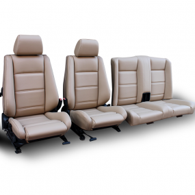 Garnitures de sièges BMW E30 cabriolet en Simili cuir beige