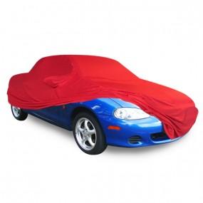 Bâche protection intérieure sur-mesure Mazda MX-5 NB en Jersey Coverlux rouge