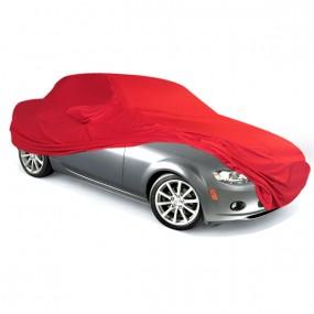 Bâche protection intérieure sur-mesure Mazda MX-5 NC en Jersey Coverlux rouge