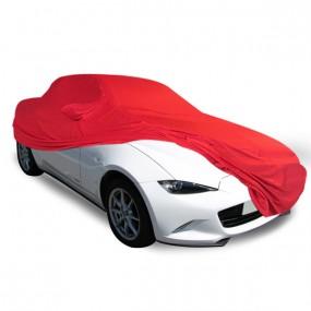Bâche protection intérieure sur-mesure Mazda MX-5 ND en Jersey Coverlux rouge