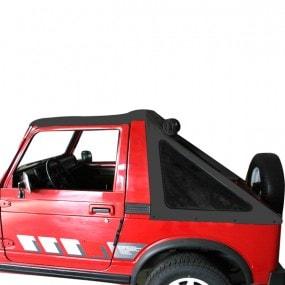 Fastback Suzuki Samurai SJ410 et SJ413 cabriolet caisse courte en vinyle