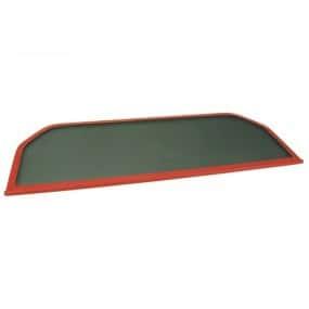Filet coupe-vent rouge, Windschott Fiat Barchetta cabriolet