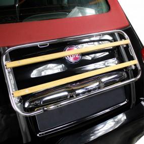 Porte-bagages sur-mesure édition bois pour cabriolet Fiat 500 cabrio