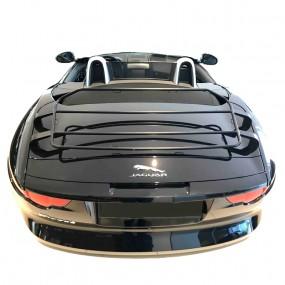 """Porte-bagages sur-mesure """"Black édition"""" pour cabriolet Jaguar F-Type"""