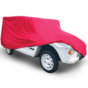 Bâche protection Citroën Mehari en Jersey (Coverlux) - Rouge