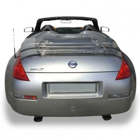 Porte-bagages sur-mesure chromé pour Nissan 350 Z