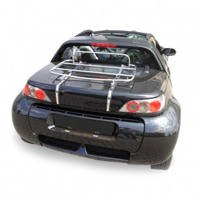Porte-bagages sur-mesure chromé pour Smart Roadster
