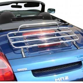 Porte-bagages sur-mesure chromé pour Toyota MR2 cabriolet
